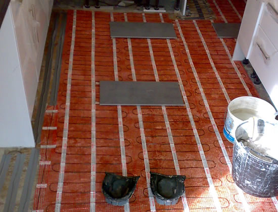 Under Floor Heating Installation London
