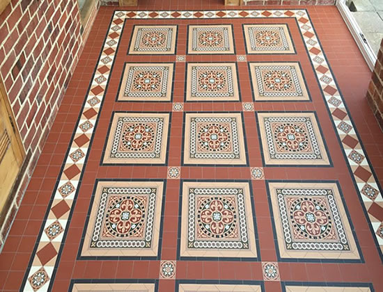 Victorian Style Tiling London